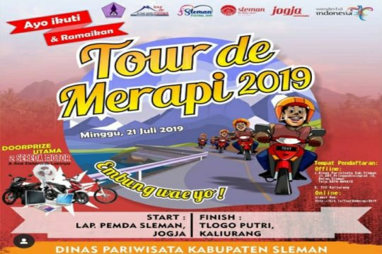 Tour De Merapi 2019 kenalkan wisata embung , hingga hadiah kambing