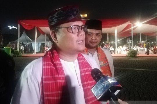 Panitia Lebaran Betawi ajak masyarakat lupakan perbedaan politik