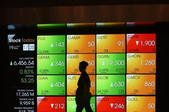 IHSG dibuka naik, imbas penguatan bursa saham Asia