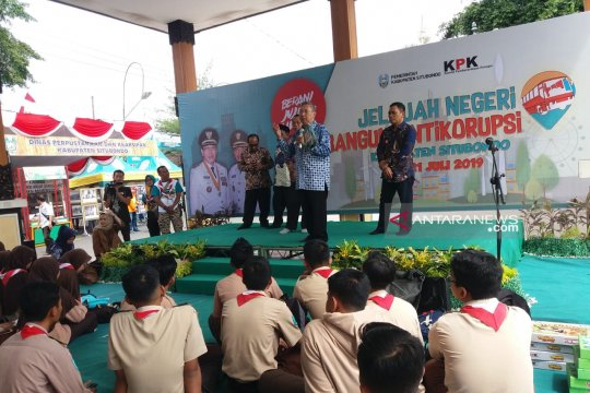KPK edukasi antikorupsi untuk pelajar Situbondo