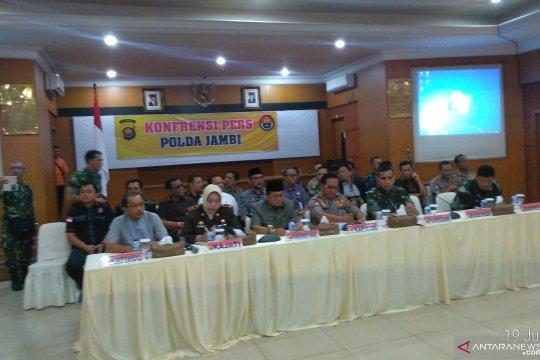 Polda Jambi tetapkan 20 tersangka penganiyaan tim Satgas Karhutla
