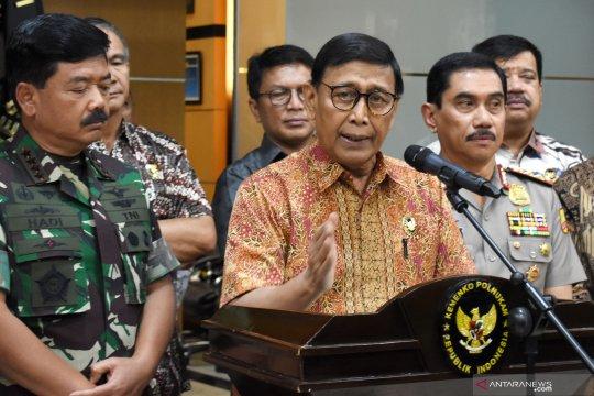 Wiranto tegaskan tidak ada penangguhan penahanan untuk Kivlan Zen