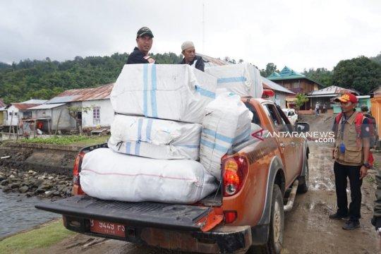 Berjibaku salurkan bantuan untuk korban gempa di Maluku