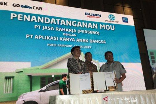 Jasa Raharja berikan asuransi kecelakaan penumpang Go-Car