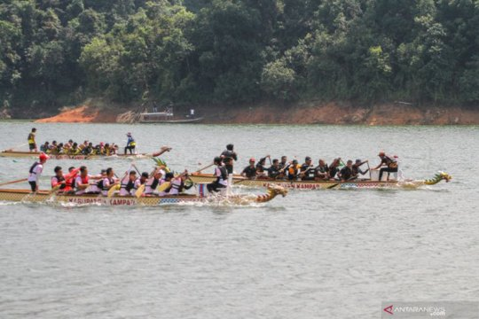 11 negara ikuti Festival Perahu Naga Kampar Riau