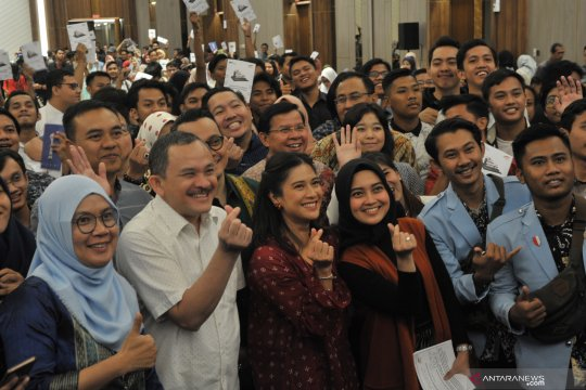Dian Sastro sosialisasikan Satu Indonesia Award 2019