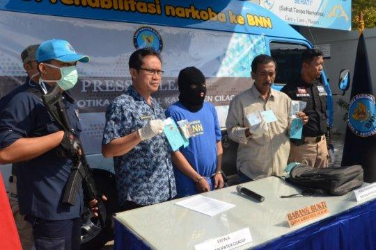 BNNK Cilacap tetapkan seorang warga Jakarta tersangka kasus narkoba