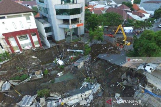 Kejati: Kasus amblesnya Jalan Gubeng Surabaya sudah P21