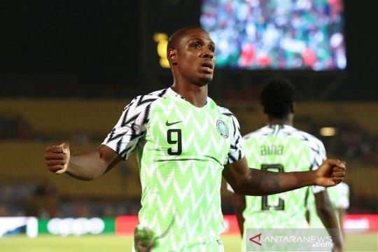 Odion Ighalo sabet Sepatu Emas Piala Afrika dengan lima gol