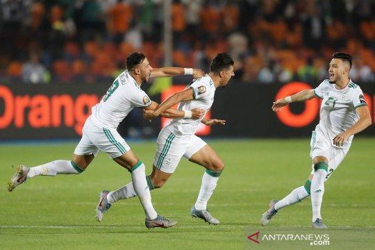 Babak pertama, gol cepat antar Aljazair sementara ungguli Senegal 1-0