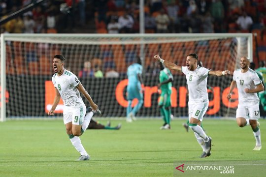 Aljazair juara Piala Afrika 2019, tundukkan Senegal 1-0