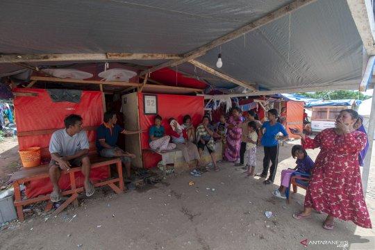 Warga korban bencana gempa berharap segera tempati hunian tetap