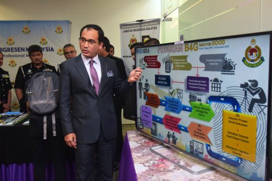 Imigrasi Malaysia minta PATI lengkapi dokumen sebelum ikut pemulangan