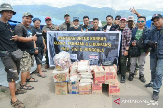 PFI Palu salurkan bantuan untuk korban bencana Sulteng