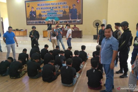 Polda Jambi kembali tangkap 18 anggota SMB