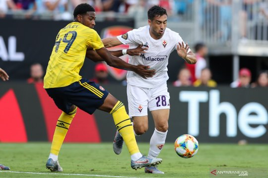 Turnamen pramusim, Arsenal menang telak 3-0 atas Fiorentina