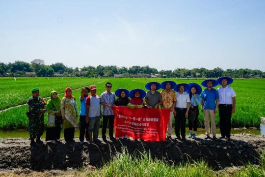 China tertarik pelajari sistem minapadi Indonesia