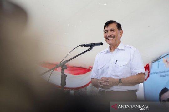 Luhut resmikan tempat pelelangan ikan daring pertama di Indonesia