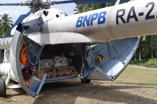 Tim penanggulangan bencana fokus jangkau pedalaman Halmahera Selatan