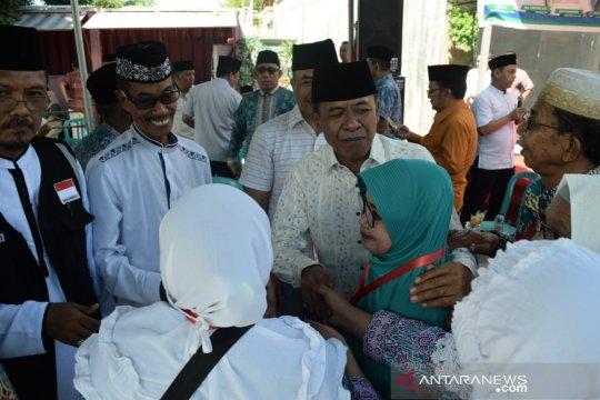 Wali kota pesan jamaah calon haji do'akan Palu segera pulih kembali