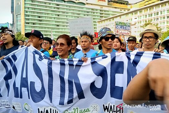 Susi kampanye pelarangan plastik sekali pakai di institusi pemerintah