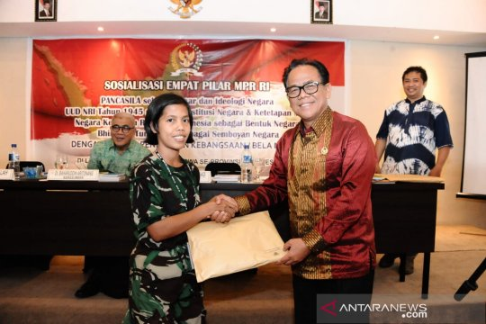 MPR harapkan Menwa miliki karakter kebangsaan