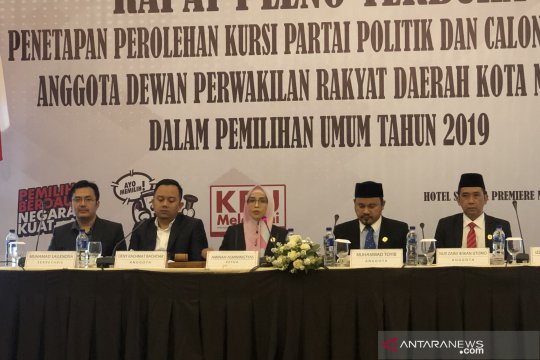 KPU Kota Malang tetapkan anggota DPRD terpilih