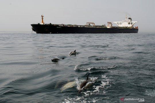 Tanker Iran Grace 1 berlayar menuju Yunani