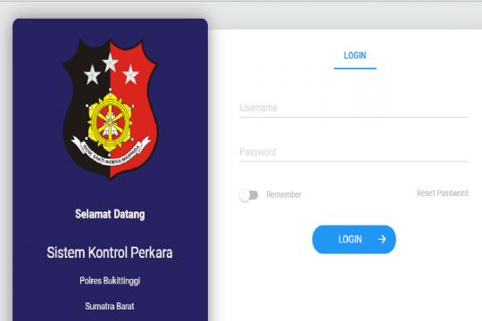 Polres Bukitttinggi luncurkan sikoperbukit.com mempermudah cek perkara