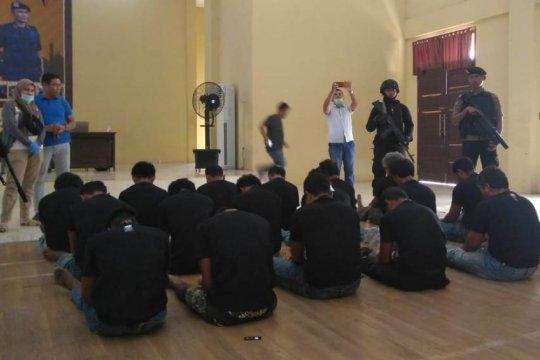 Polda Jambi menyatakan SMB kelompok kriminal bersenjata