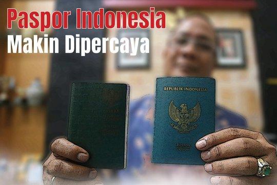 Paspor Indonesia makin dipercaya