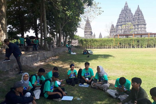 Kemah Budaya Kaum Muda dari ide menuju kolaborasi budaya nusantara