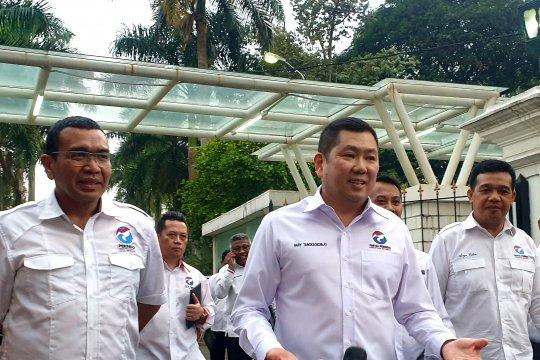 Presiden bahas pembangunan Indonesia saat menerima pengurus Perindo