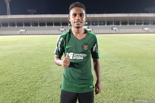 Krismon puji rekan usai cetak gol di timnas U-23