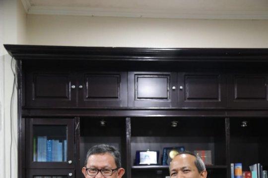 Pemprov Lampung--Antara jalin kerja sama bangun videotron