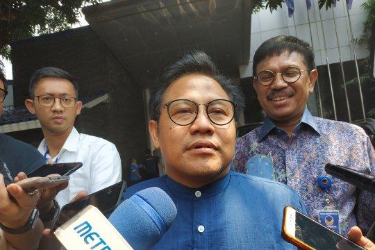Bertemu Surya Paloh, Muhaimin: Hanya menjaga soliditas
