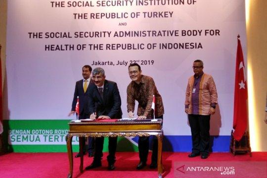 BPJS Kesehatan kerja sama terkait jaminan sosial dengan Turki