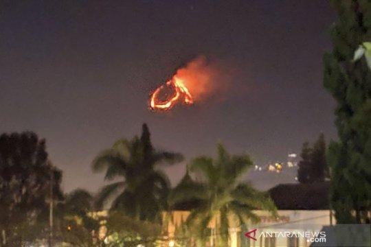 Kebakaran landa lereng Gunung Panderman