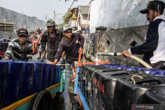Pasokan air Jakarta masih aman meski kemarau panjang