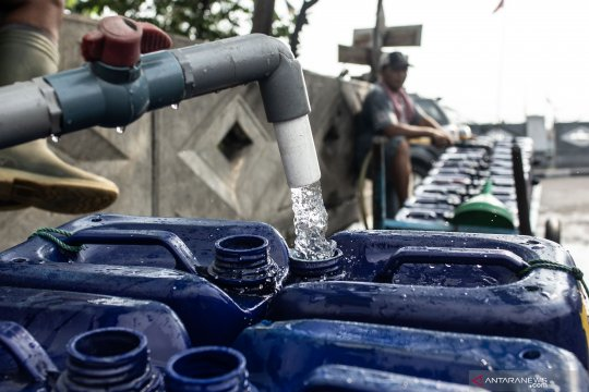 Pasokan air Jakarta tetap aman meskipun kemarau