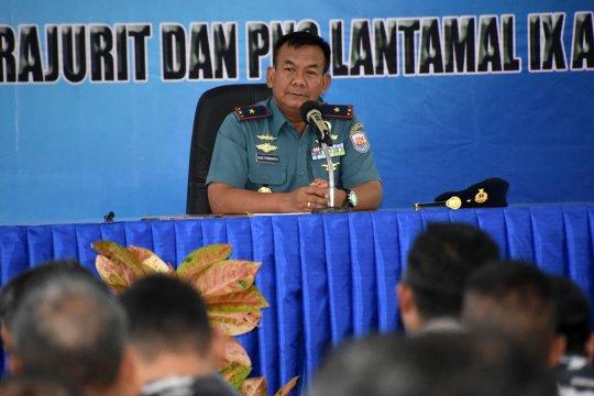 Laksma Budi Purwanto memulai tugas sebagai Komandan Lantamal IX Ambon