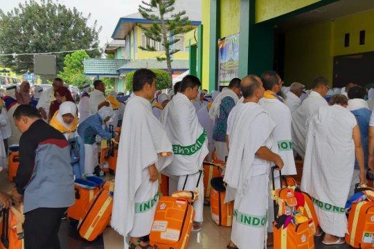 Embarkasi Padang sudah berangkatkan 6.233 calon haji