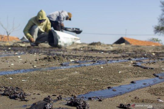 Kebocoran pipa minyak Pertamina di Karawang berhasil ditutup