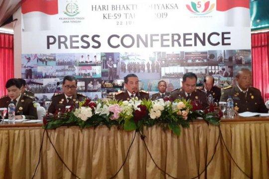 Kejati Jateng alokasikan Rp13,7 miliar untuk penanganan kasus korupsi