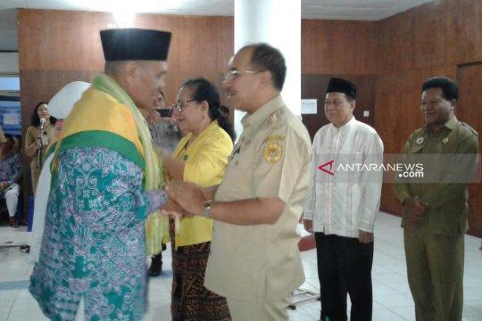 250 calhaj dilepas Wali Kota Kupang ke Embarkasi Surabaya