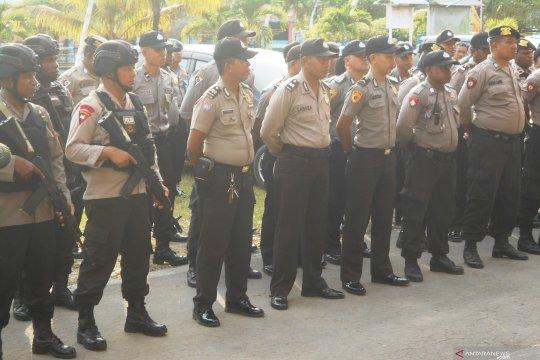 120 personel Polres Biak siaga pengamanan penetapan caleg terpilih