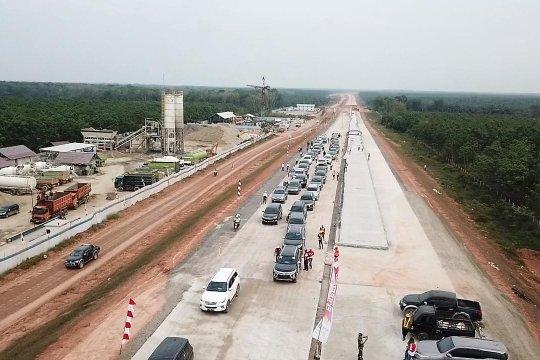 Ruas Tol Trans Sumatera di wilayah OKI segera operasional