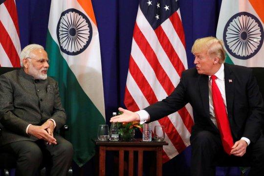 India bantah Modi minta Trump jadi mediator soal Kashmir