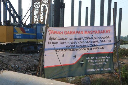 Tuntut ganti rugi, warga hadang proyek tol Cibitung-Cilincing