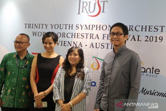 Kelompok orkestra remaja Indonesia siap unjuk gigi di Wina